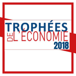 Award for Maison Altesse at the 2018 Trophées de l'Economie Ardéchoise (Ardèche Economy Awards)