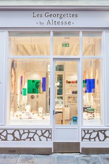 Opening of the first shop Les Georgettes by Altesse in Paris